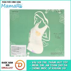 Khăn che bú vải sợi tre cho bé Mamaru MA-CB01 – Diệt khuẩn, hút ẩm tốt, kháng tia UV- Dmall247