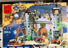 Bộ lego Pirates đảo hải tặc 366 chi tiết
