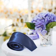 cà vạt nam, cà vạt xanh hàn quốc , cà vạt bản nhỏ, cà vạt nam bản nhỏ màu xanh