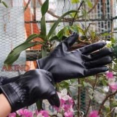 Găng tay da nữ cảm ứng