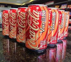 Coca- Cola Hương Vanilla 355ml Nhập Khẩu Từ Mỹ (Thùng 12 lon)