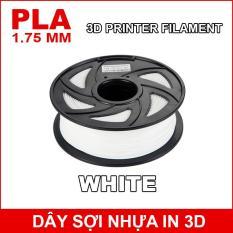 Dây sợi nhựa PLA in 3D 1.75mm 1Kg White