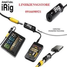 Thiết bị thu âm IRIG LiveStream từ Mixer Amply ĐÀN ĐIỆN vào ĐIỆN THOẠI – IRING