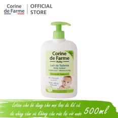 Lotion cho bé Corine de Farme Baby Lotion 500ml