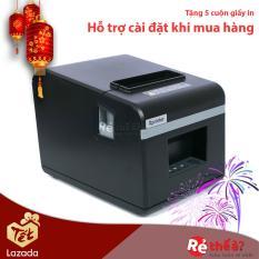 Máy in hóa đơn XPRINTER N160II KHỔ GIẤY 80mm (CỔNG KẾT NỐI LAN) Hàng Nhập Khẩu + Tặng kèm 3 cuộn giấy in nhiệt khổ 80mm