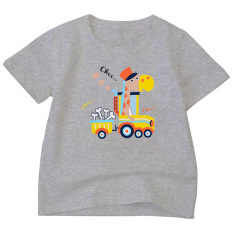 Áo thun bé trai vải dày mịn mát in hình được các bé trai yêu thích ATBT105