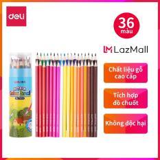DELI Bút chì màu học sinh 177 mm, 36 màu/hộp 7015
