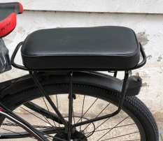 [ TẶNG KÈM 1 CHUÔNG] Đệm yên sau xe đạp dày dặn