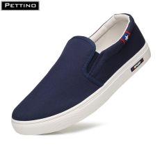 Giày Lười nam vải sợi thoáng khí phiên bản giới hạn thanh lịch chất liệu cao cấp bền màu Pettino LLTL03