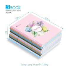 Bộ 10 cuốn tập Colorful Seasons 96 trang MH604