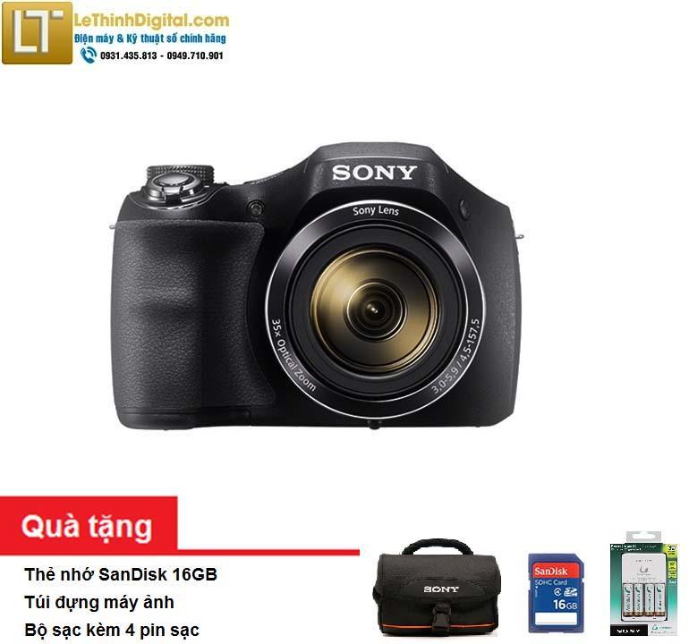 Máy ảnh KTS Sony Cybershot DSC-H300 20.1MP - Zoom quang học 35x- Hãng phân phối