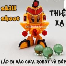Robot bắn bi- siêu nhân bắn bi