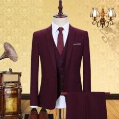 Bộ vest nam cưới hỏi dự tiệc kỉ yếu công sở tặng cà vạt