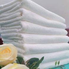 Sale Combo 10 khăn tắm cotton, khăn hàng A xuất khẩu dư 40×80( 110gr), khăn mịn đẹp, không xù lông.