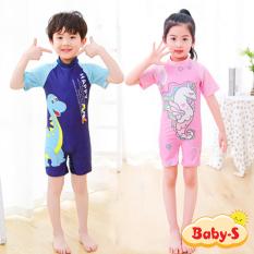 [HCM]Đồ bơi liền thân cho bé trai và bé gái 5-10 tuổi họa tiết hoạt hình đáng yêu nhiều màu sắc Baby-S – SDB013