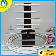 Anten thông minh thu sóng DVB T2 + 15m dây cáp + Jack nối