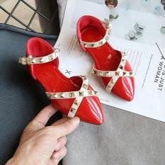 Giày Bít Mũi Đính Đinh Tán Chống Trượt Cho Bé 3-4-5-6-7-8 Tuổi X9N12Ls08