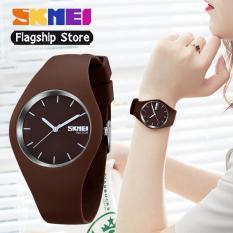 Đồng hồ nữ SKMEI 9068 Dây đeo Silicon Thời trang giản dị, con trỏ, không thấm nước