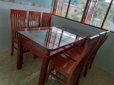 bàn ăn 2 tầng