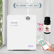 Máy phun tinh dầu tạo thơm thông minh Dr.Aroma S400 Wifi