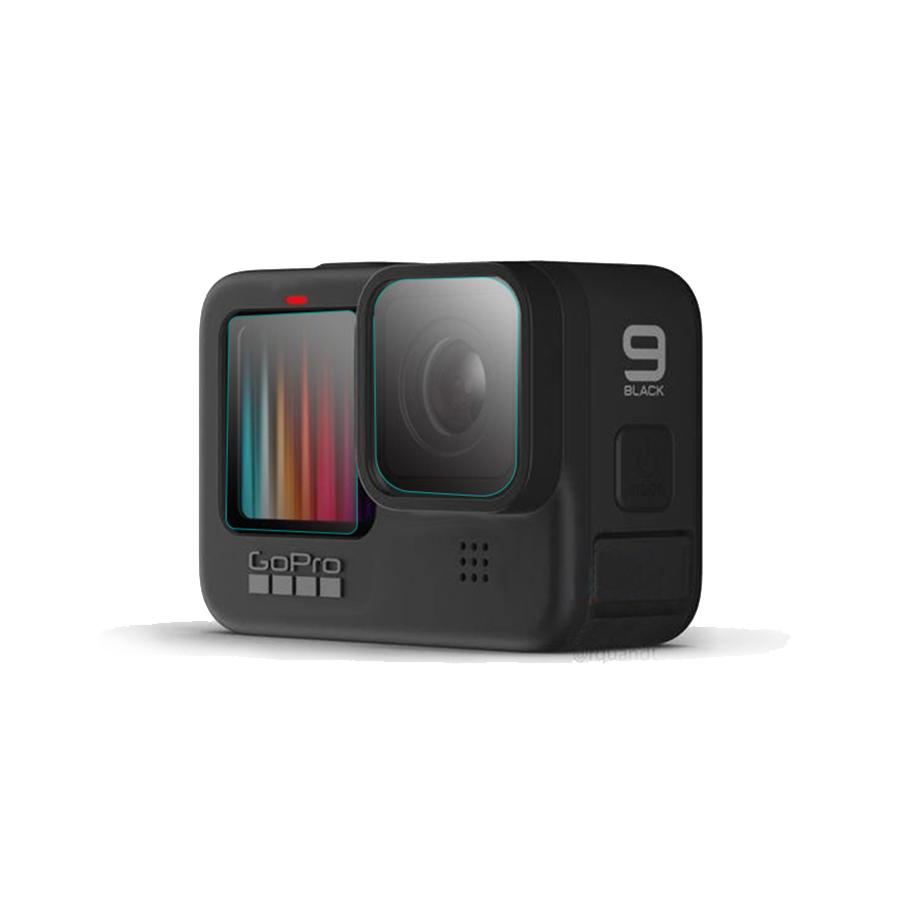 Bộ 3 miếng dán kính cường lực cho GoPro Hero 5/6/7/8/9 [ hàng cao cấp]