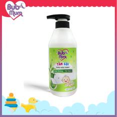 Sữa tắm gội cho bé 500ml BuB&MuM chiết xuất Trầu Không và Trà Xanh giữ da mềm mại và thơm mát