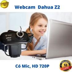 Webcam Cao Cấp DAHUA Z2 – HD 720P Sắc Nét – Tích Hợp Mic Thu Âm- Bảo hành 12 tháng