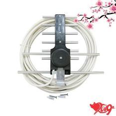 Anten thu sóng Dvb T2 + 15m dây cáp (có sẵn jax)