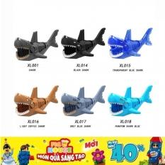 [Non-LEGO] Cá Mập Nhiều Màu – Đồ Chơi Lắp Ráp Xếp Hình XL001-018