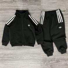 [Lấy mã giảm thêm 30%]Bộ Adidas Kids Hottrend Với Tông Màu Đen Cực Chất Cho Bé Yêu