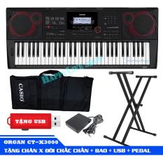 Đàn Organ Casio CT-X3000 kèm + CHÂN X ĐÔI + Pedal + USB + Giá nhạc +AD + Bao đàn – Bảo hành 2 năm – HappyLive Shop
