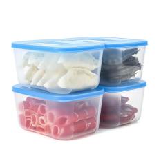 Bộ 4 Hộp Trữ Đông Tupperware Dung Tích 700ml, Nhựa Nguyên Sinh An Toàn Cho Sức Khỏe, Giải Pháp Lưu trữ Thực Phẩm Hàng Đầu Thế Giới