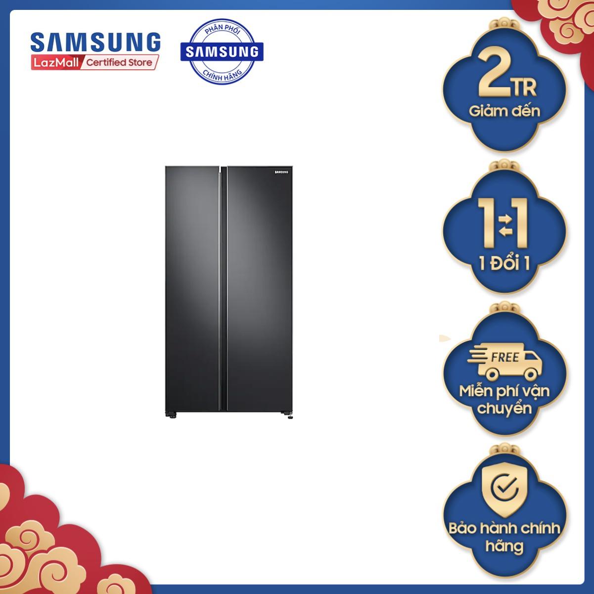 Tủ lạnh Samsung Side by Side 680L (RS62R5001B4SV)