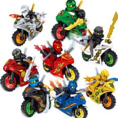 Lego Ninjago Rồng, Quái thú, Phi thuyền, Hắc Mã 7051 [Siêu Hot 2020]