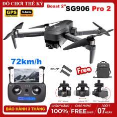 [ BỘ 2PIN ] Máy bay flycam ZLRC SG906 PRO 2, Camera 4K, Gimbal 3 trục, động cơ không chổi than, Truyền ảnh trực tiếp về điện thoại – BẢO HÀNH 3 THÁNG