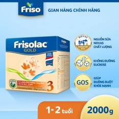 [MỚI] Sữa bột Frisolac Gold 3 Hộp Giấy 2KG