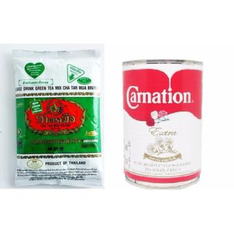 01 Lon Sữa Tươi Béo Hoa Hồng Carnation Thái Lan + 01 Gói Trà SữaXanh Thái Lan 200g - EO902WNAA59OV0VNAMZ-9685893,224_EO902WNAA59OV0VNAMZ-9685893,140000,lazada.vn,01-Lon-Sua-Tuoi-Beo-Hoa-Hong-Carnation-Thai-Lan-01-Goi-Tra-SuaXanh-Thai-Lan-200g-224_EO902WNAA59OV0VNAMZ-9685893,01 Lon Sữa Tươi Béo Hoa Hồng Carnation Thái Lan + 01 Gói Trà