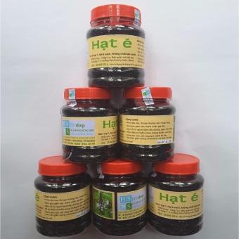 06 Lọ Hạt é sạch loại 1 -150gr (Công dụng thanh nhiệt, giải độc,giảm cân, nhuận tràng) HS shop