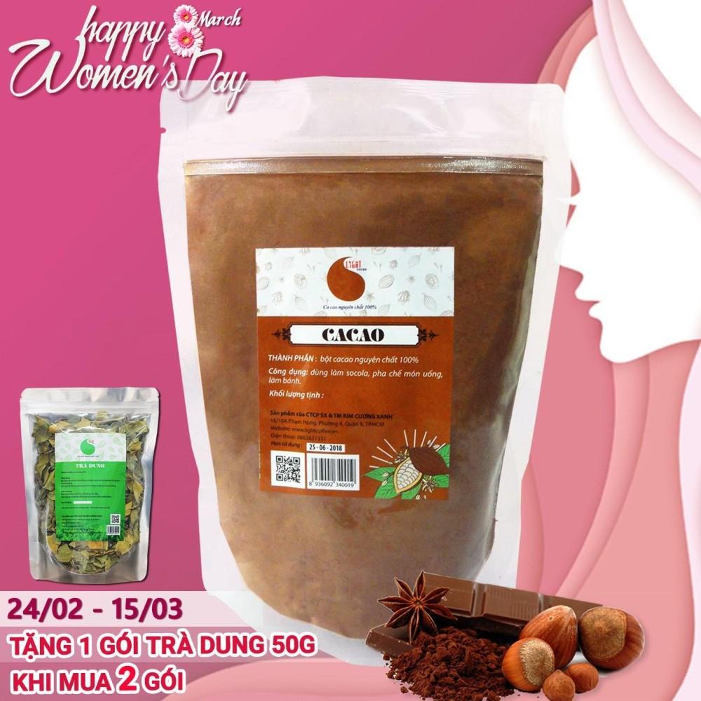 Vì sao mua 100% Pure Cacao Powder for baking – Light Cacao – 200gr