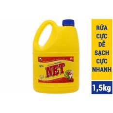 2 chai Nước Rửa Chén đậm đặc Net 1,5kg