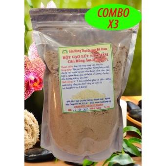 3kg Bột gạo lứt nảy mầm loại bỏ cảm giác thèm ăn