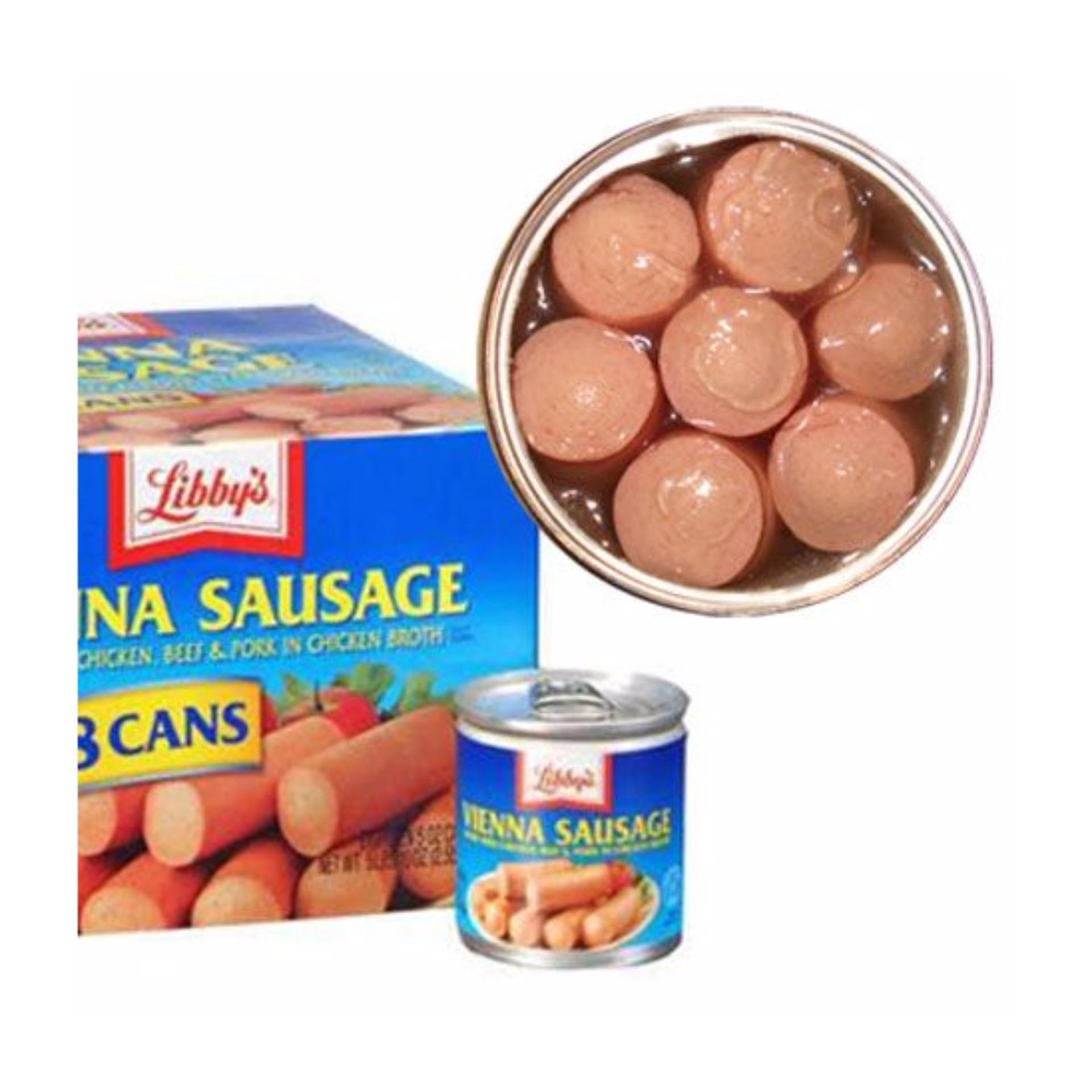 4 Hộp Xúc xích Libbys Vienna Sausage – USA