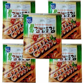 5 Rong Biển(1goi X 10 miếng) Sấy Khô Hàn Quốc, chế biến nhiều món ăn ngon khác