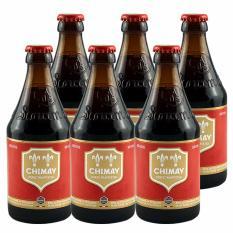 Báo Giá Bia Chimay Đỏ 6 Chai 330ml – Belgium Beer – Chimay Beer – Bia Chimay – Bia Bỉ