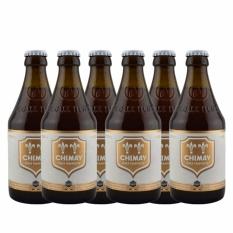 Bia Chimay Trắng 6 Chai 330ml – Belgium Beer – Chimay Beer – Bia Chimay – Bia Bỉ
