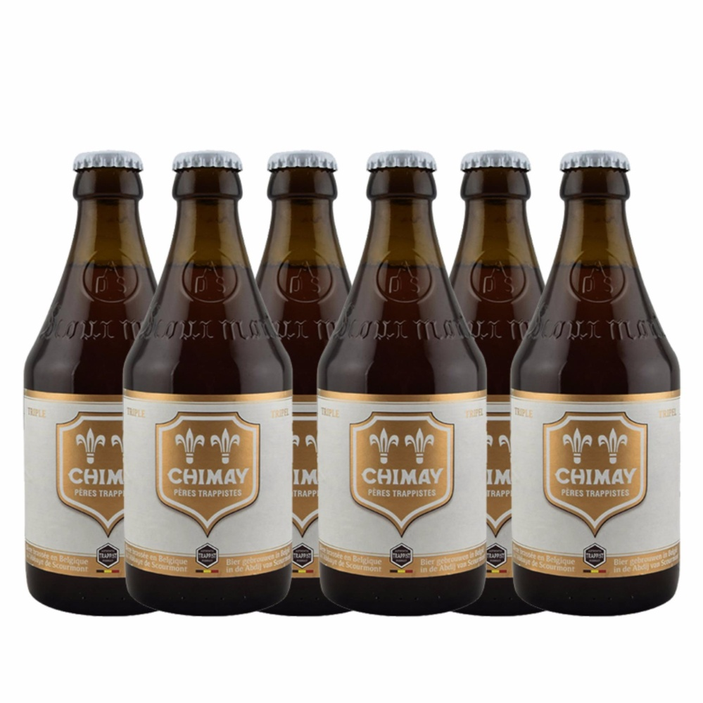 Vì sao mua Bia Chimay Trắng 6 Chai 330ml – Belgium Beer – Chimay Beer – Bia Chimay – Bia Bỉ