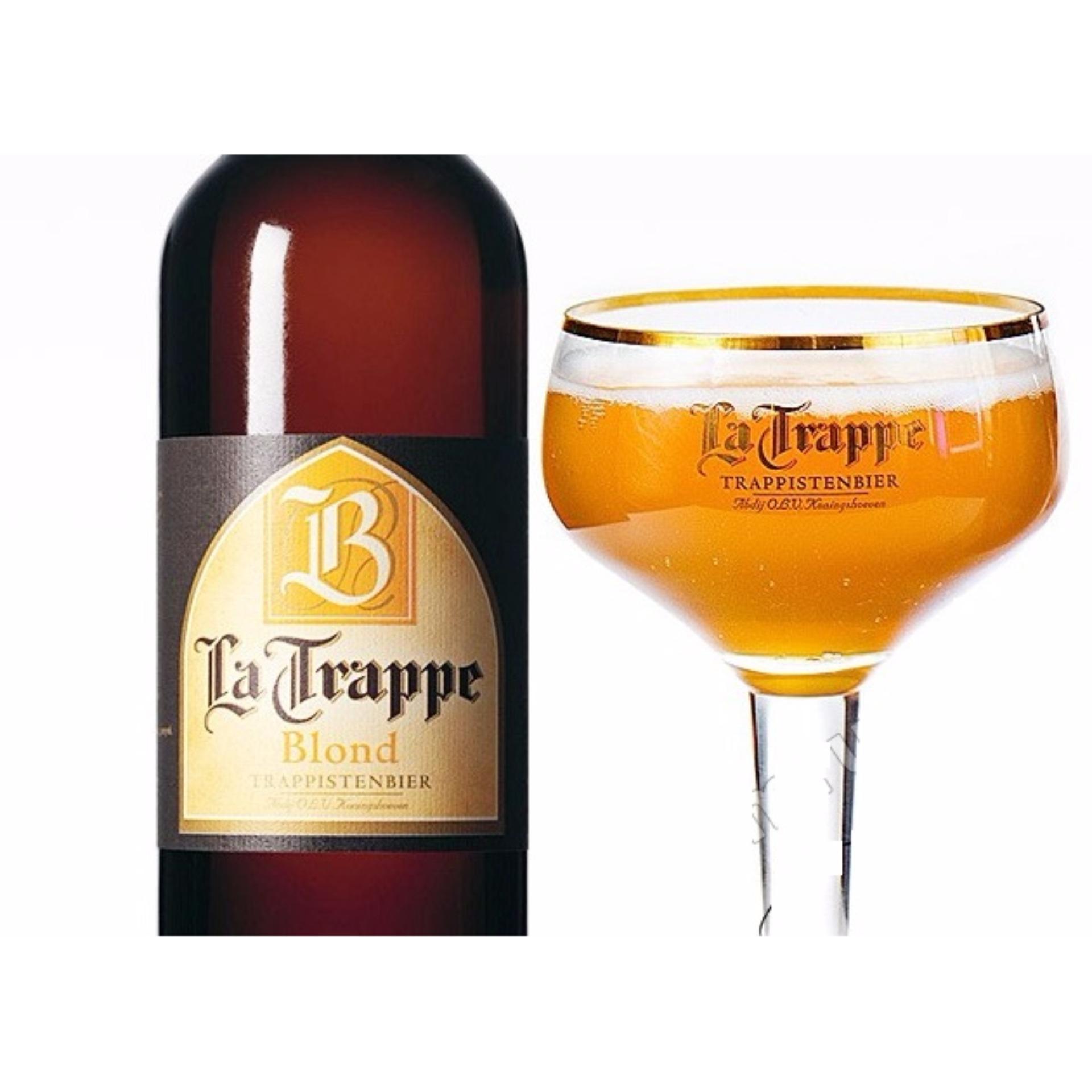 Địa Chỉ Bán Bia La Trappe Blond 6 Chai 750ml – La Trappe Blond Beer – Holland Beer – Netherlands Beer – Bia La Hà Lan Trappe Blon