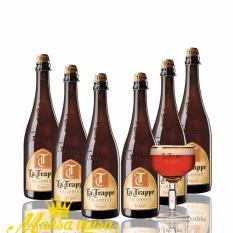 6 chai bia La Trappe Tripel 750 ml