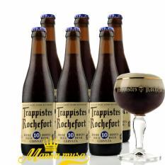 Cửa hàng bán 6 Chai Bia Rochefort 10 – 330 ml | Bia Bỉ
