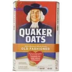9 Gói Yến mạch nguyên hạt Quaker Oats Old Fashioned loại